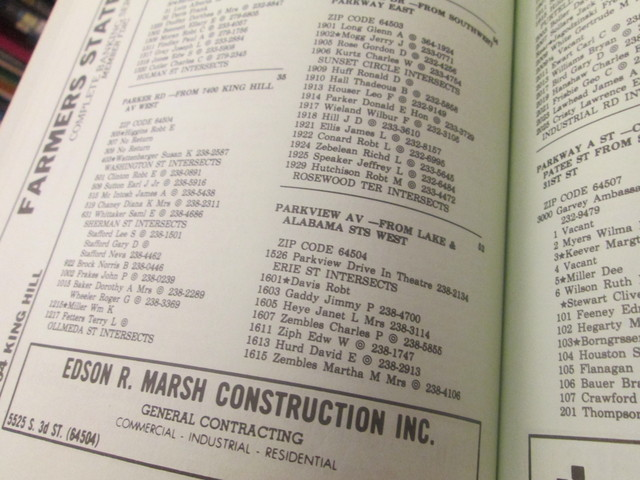 1979 city directory located at st joseph downtown library