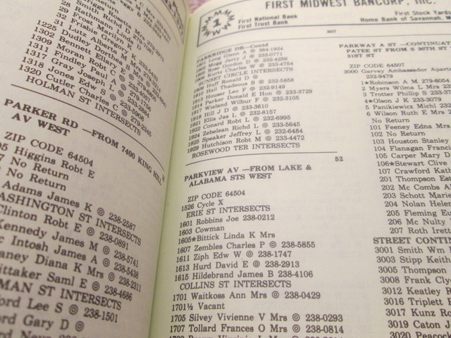 1982 City Directory