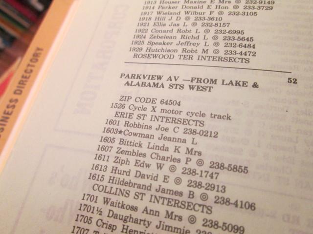 1983 City Directory