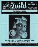 Guild Program November 1992