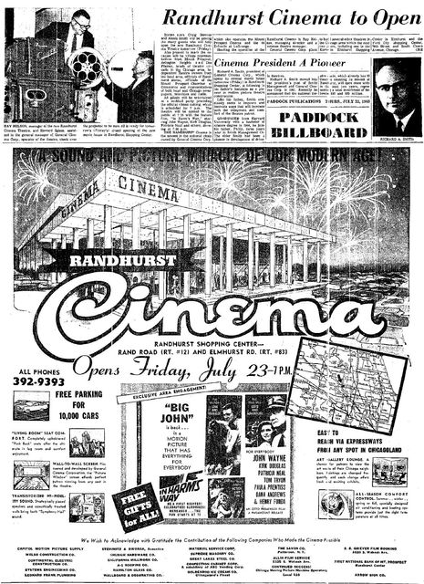 July 22, 1965 Opening Ad
