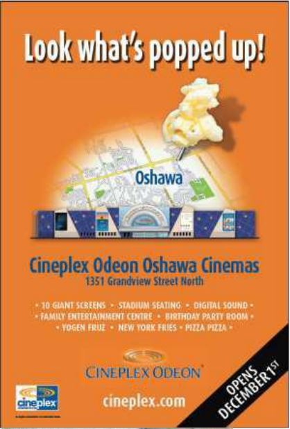 Cineplex Odeon Oshawa Cinemas