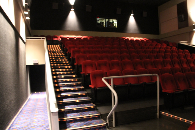 Cinema #1 from front and exit