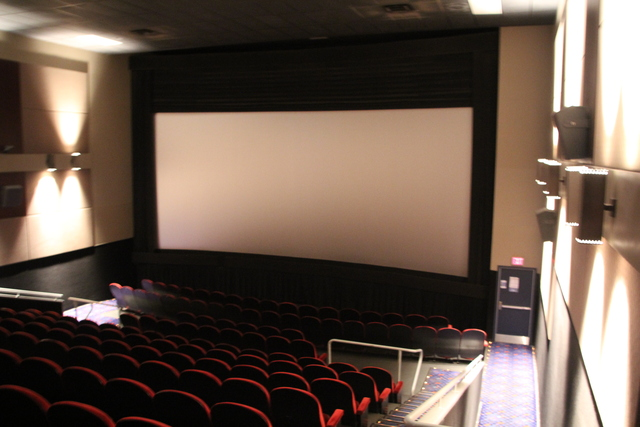 Cinema #1 screen