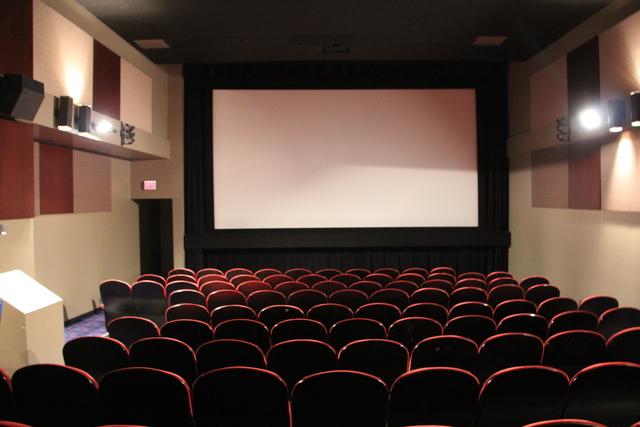Cinema #7 screen and seats