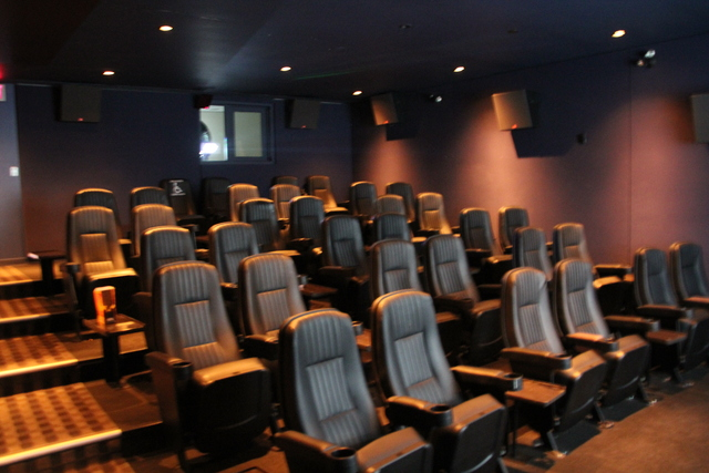 Cinema VIP #1 from front