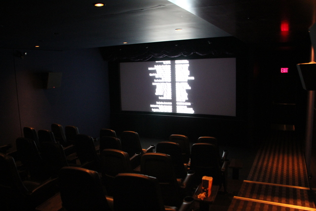 Cinema VIP #1 screen from rear left