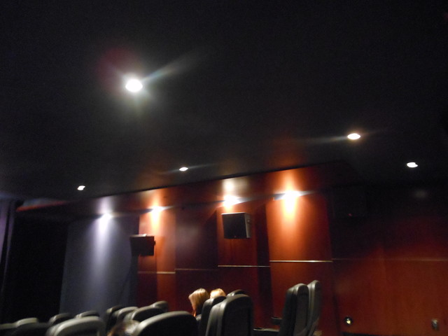 Cinema VIP #1 side walls