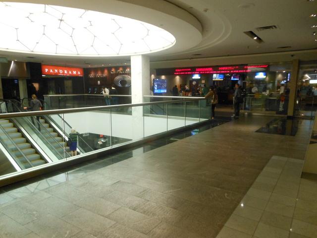 Exterior of cinema
