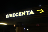 Cinecenta entrance sign