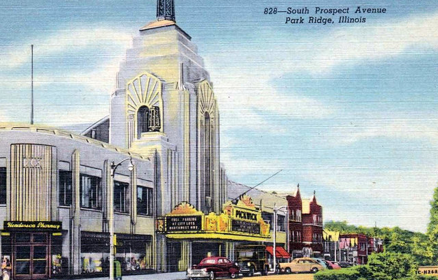 PICKWICK Theatre; Park Ridge, Illinois.