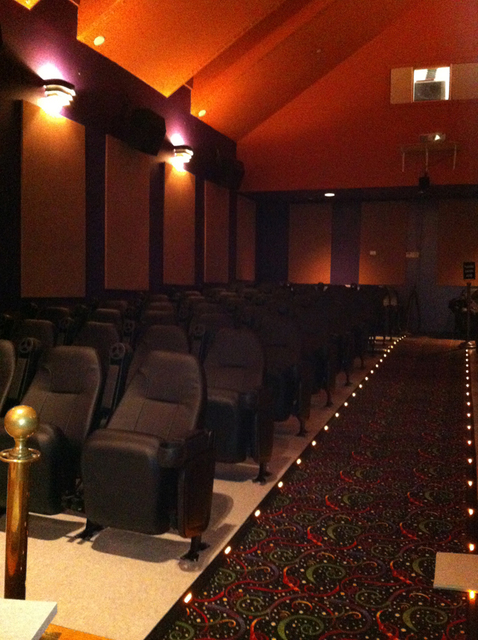 Tower Theaters New Seating