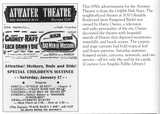 1950s Advertisement for the Atwater Theatre