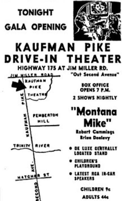 Kaufman Pike Drive-In