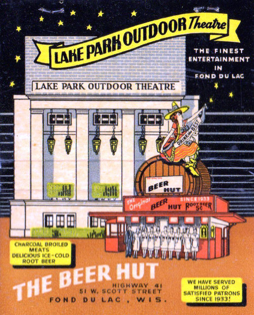 LAKE PARK OUTDOOR Theatre; Fond du Lac, Wisconsin.