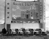 MISSION DRIVE-IN Theatre; San Antonio, Texas.