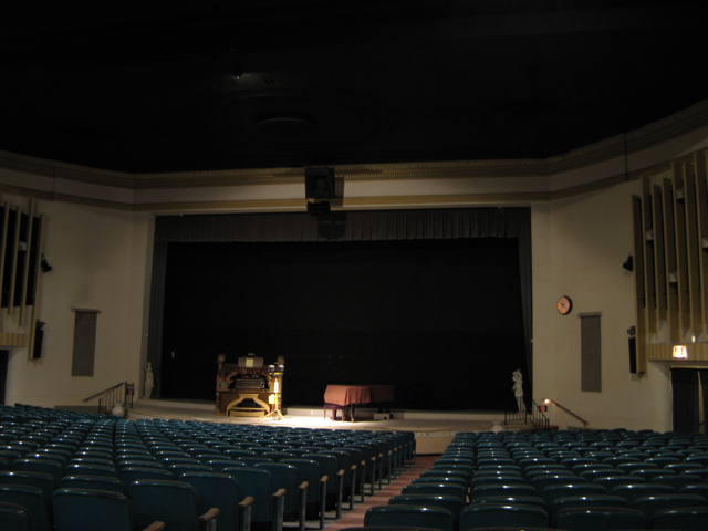 Seats & Stage