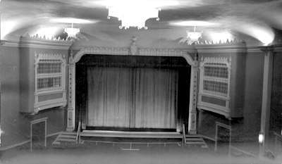 Clark Theatre screen