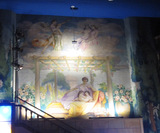 Mural, front left sidewall