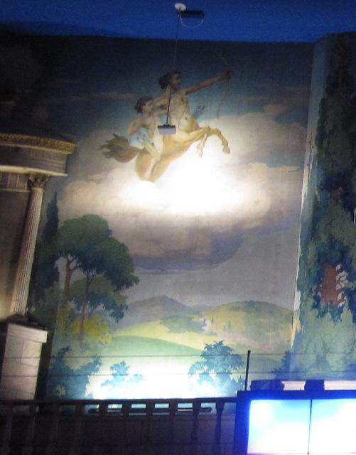 Mural, left rear sidewall