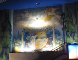 Mural, front right sidewall