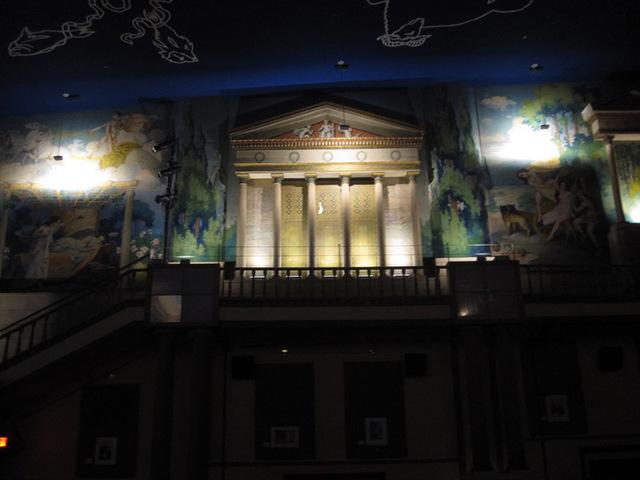 Auditorium, right sidewall