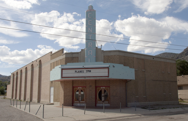 Central Theatre, Ely, NV - 2013