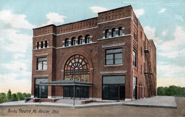 Mcalester (OK) United States  city images : Busby Theatre & Opera House in McAlester, OK Cinema Treasures