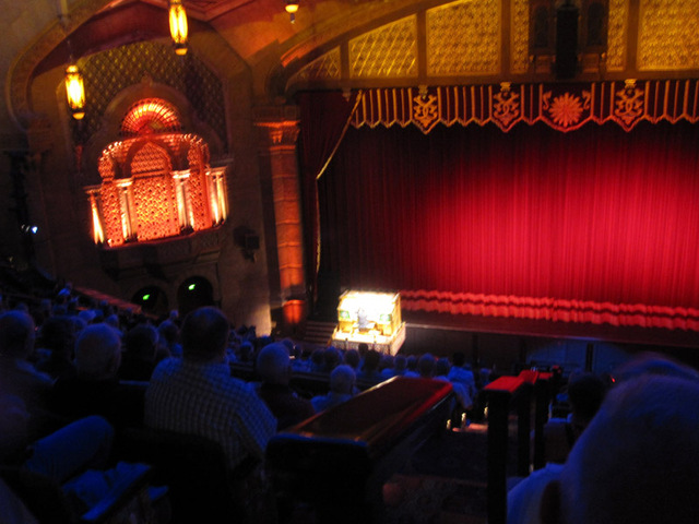 Auditiorium - Organist performing