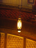 Chandelier near proscenium