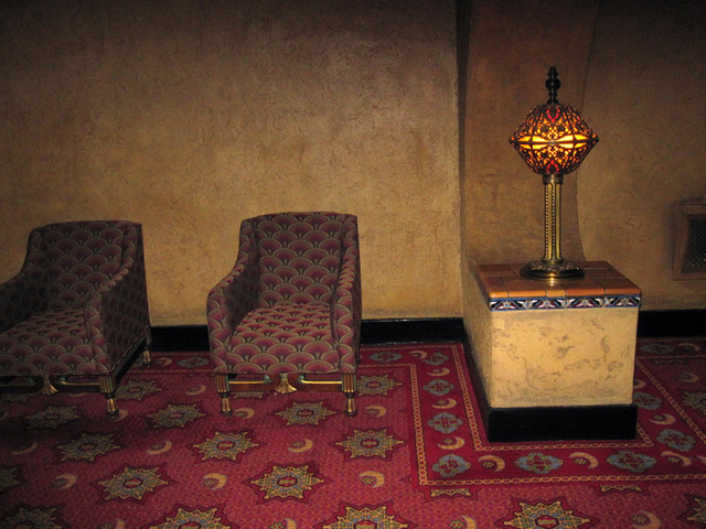 Men's lounge - upper level