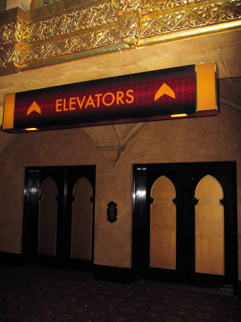 Path to elevators