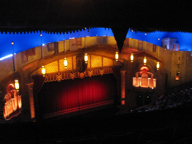 Proscenium from Balcony