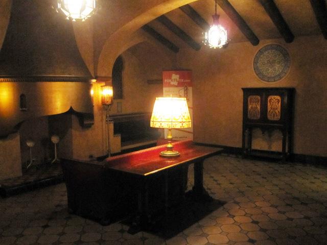 Men's Lounge, lower level