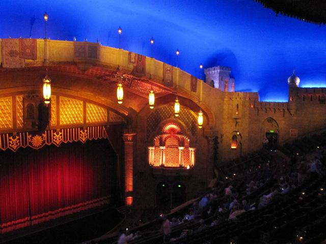 Auditorium - right side of proscenium
