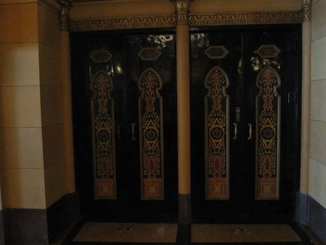 Entrance door in outer lobby