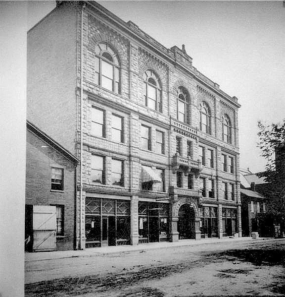 Sorg Opera House Building  c.1900