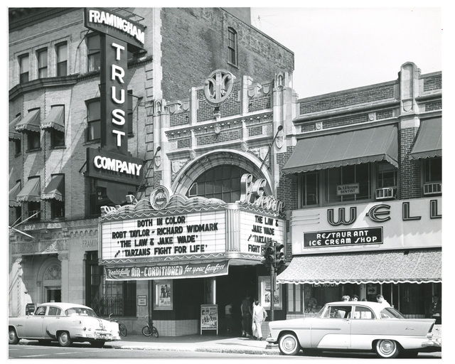 The St George in 1958