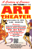 Art Theater 100th anniversary advertisement