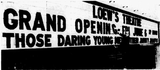 "<p>The manager of the Loew's Downtown Theater put the size of the marquee to the test with the June 6, 1969 public grand opening as the first film was, ""Those Daring Young Men in Their Jaunty Jalopies."" As you can see, the marquee was up to the challenge.</p>"