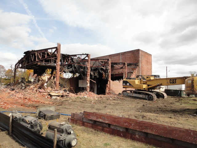 Glassboro Theater demolition