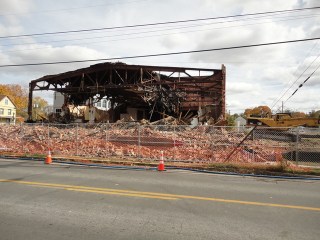 Glassboro Theater demolition 2