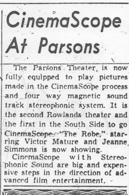 Parsons Theatre
