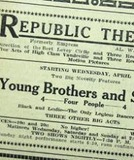 Republic Theatre Advertisment