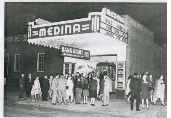 The MEDINA THEATER, Medina, Ohio