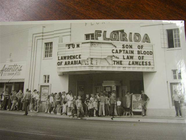1947 photo with hurricane damage courtesy of Jack Hegarty via the Historic Florida II Facebook page.