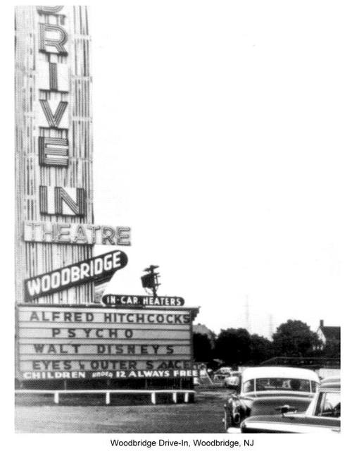 Woodbridge Drive-In Marquee