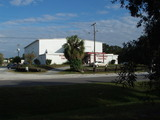 """[""""Former Drew Field Army Airfield Base Theatre""""]"""
