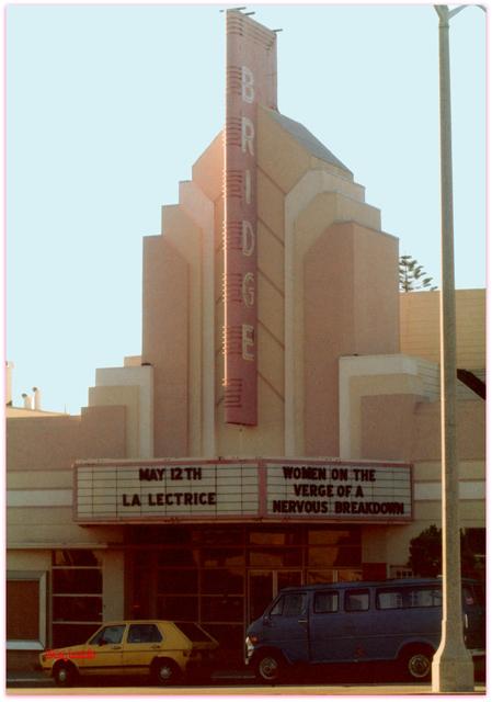 Bridge Theatre San Fanacisco CA / Don Lewis / Billy Smith