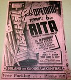 Rita Theatre Grand Opening 1941